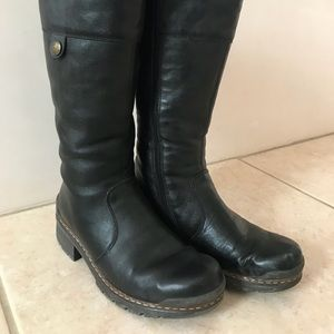 Rieker lined boots
